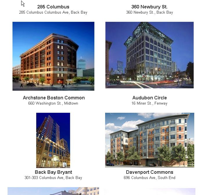 Boston apartment rentals, leads and affordable housing ...