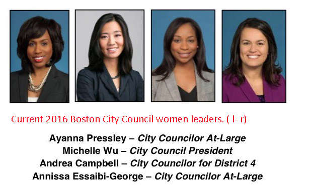 Female Boston City Councilors