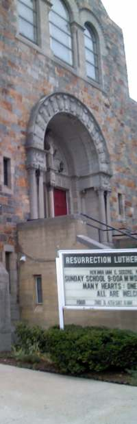 Resurrection Lutheran Church facade