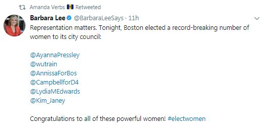 four blacks and two women of color are elected to the new 2018 Boston City Council