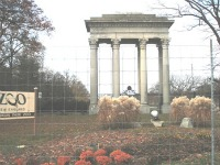 the original Franklin Park gateway